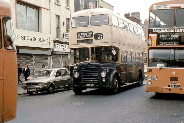 Suburban bus Dublin
